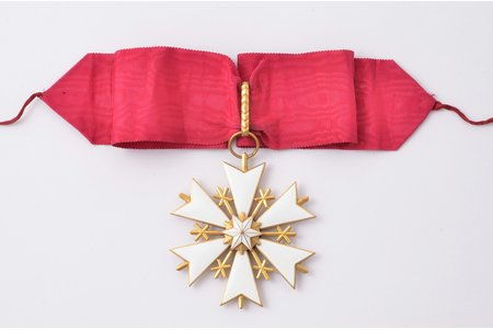 Baltās zvaigznes ordenis, Igaunija, 68.3 x 63.6 mm
