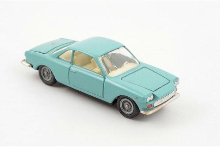 car model, Fiat Siata 1500, metal, USSR, ~ 1980