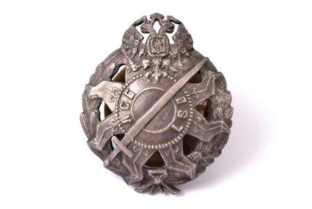 nozīme, Latvijas strēlnieku bataljons, LSB, Krievijas Impērija, 20.gs. sākums, 44 x 36.3 mm