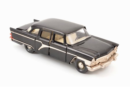 car model, GAZ 13 Chaika Nr. А15, carbon panel, metal, Russia, ~ 1980