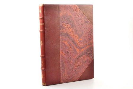 """A.S. Pouchkine, """"Le Coq d'or"""", exemplaire  № 531 / 775, illustrés par B. Zworykine, 1925, H. Piazza, Paris, 76 pages, half leather binding, gilded edge, illustrations on separate pages, 30 x 23 cm"""