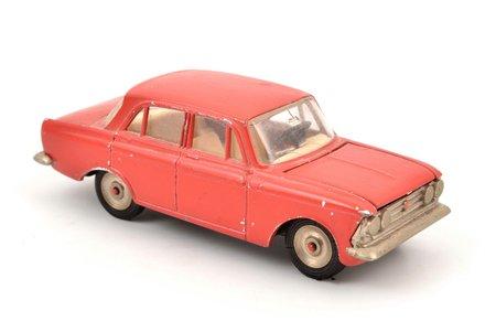 car model, Moskvitch 408 Article, metal, USSR, 1974