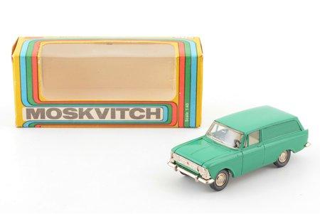 car model, Moskvitch 434 Nr. A6, metal, USSR, 1982