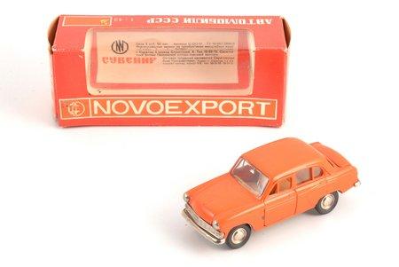 auto modelis, Moskvitč 403 Nr. A7, metāls, PSRS, 1978 g.