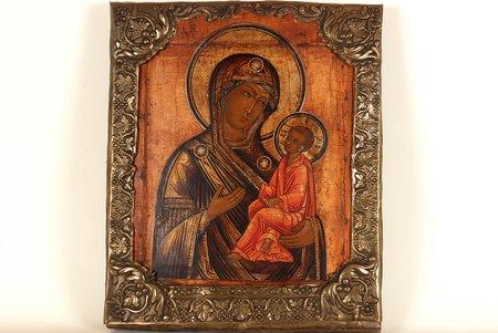 Tihvinskas, Dieva māte, dēlis, gleznojums, Krievijas impērija, 19. gs., 32 x 27 cm