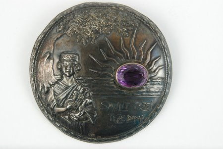 Sakta, silver, 875 standart, 21 g., the size of the ring 6.5, the 20-30ties of 20th cent., Latvia