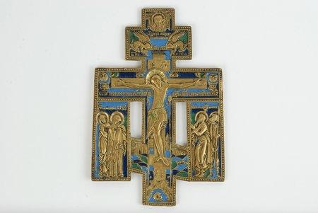 3 emaljas krāsas, bronza, Krievijas impērija, 20. gs. sākums, 16.5 x 11 cm