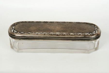 lādīte, sudrabs, 84 prove, Dmitrijs Ivanovič Gubkin, Gubkina I.S. fabrika, vāka svars, 1866 g., 68.3 g, Krievijas impērija