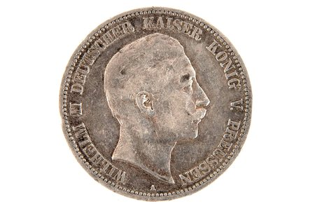5 marks, 1902, A, Prussia, Germany, 27.7 g
