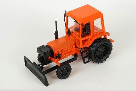 car model, Belarus MTZ 82, Bulldozer, plastic, USSR
